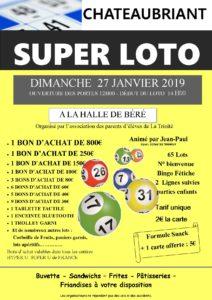 Super Loto @ Halle de Béré